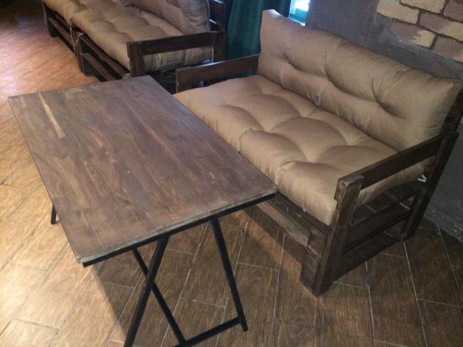Паллет мебель диван купить