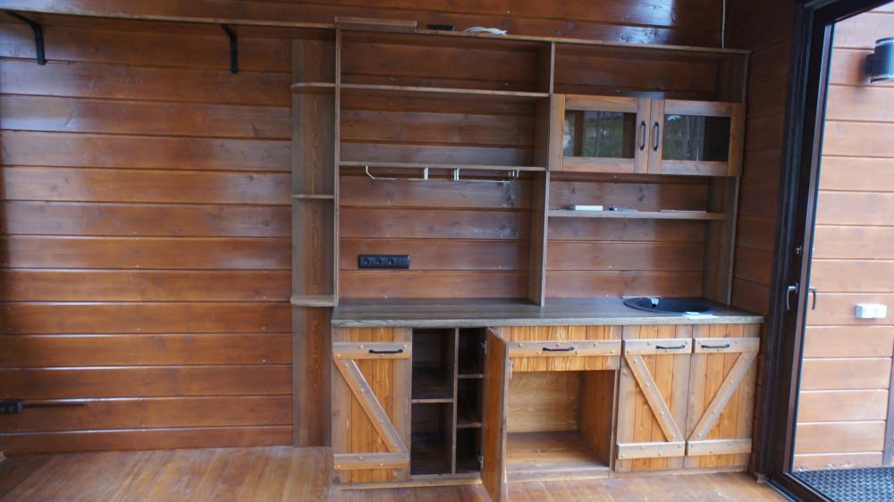 Кухня из дерева - Массива