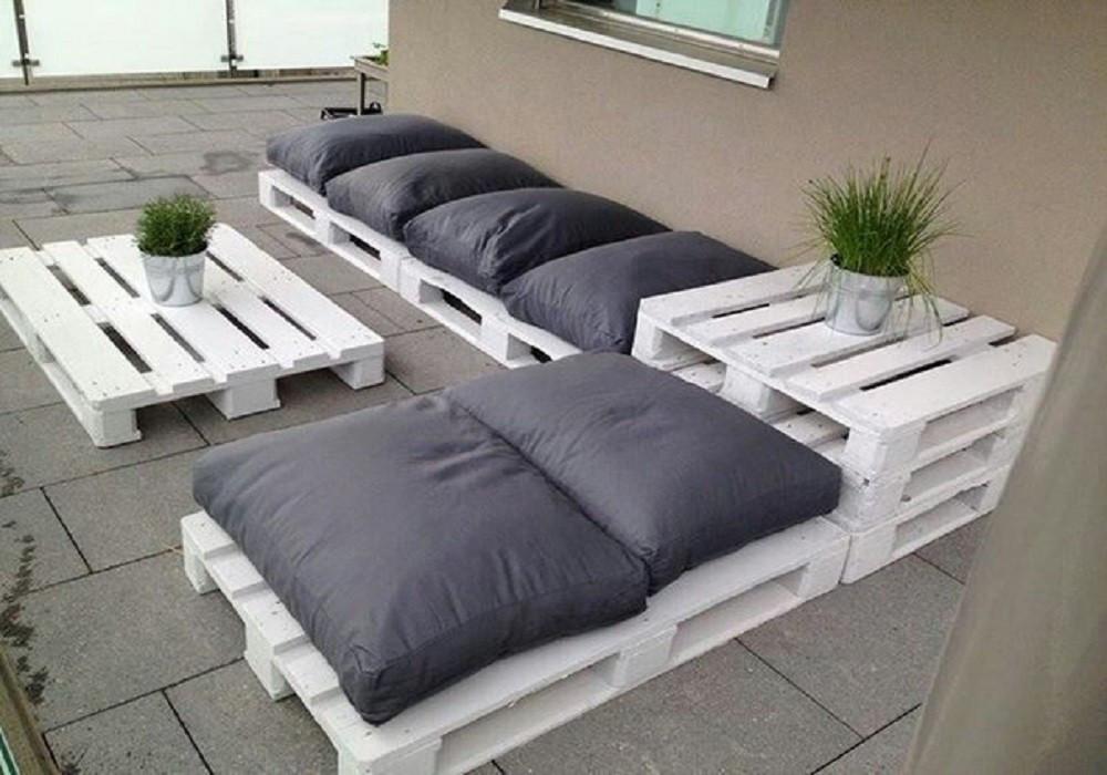 Комплект мебели из поддонов Мустафар