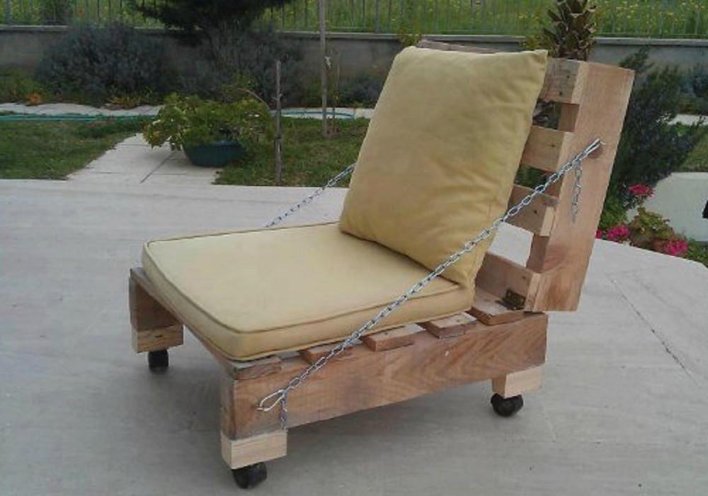 Кресло из поддонов Корделия