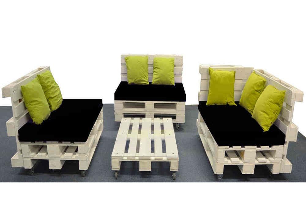 Комплект мебели из поддонов Нереида