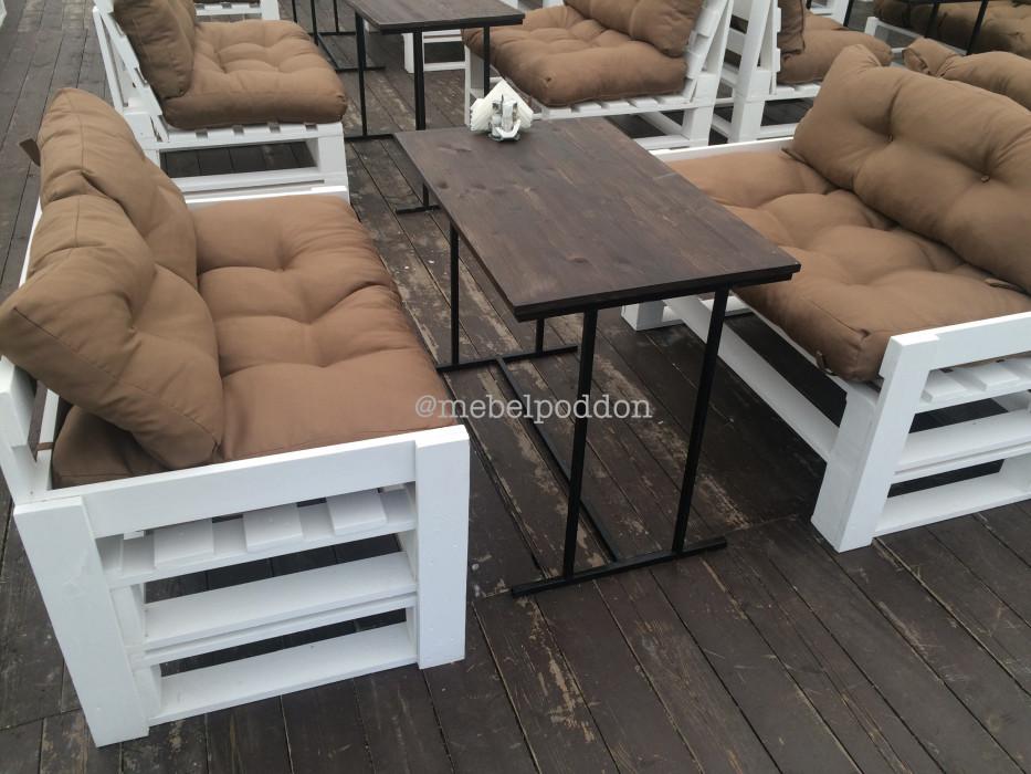 Комплект мебели в стиле паллет