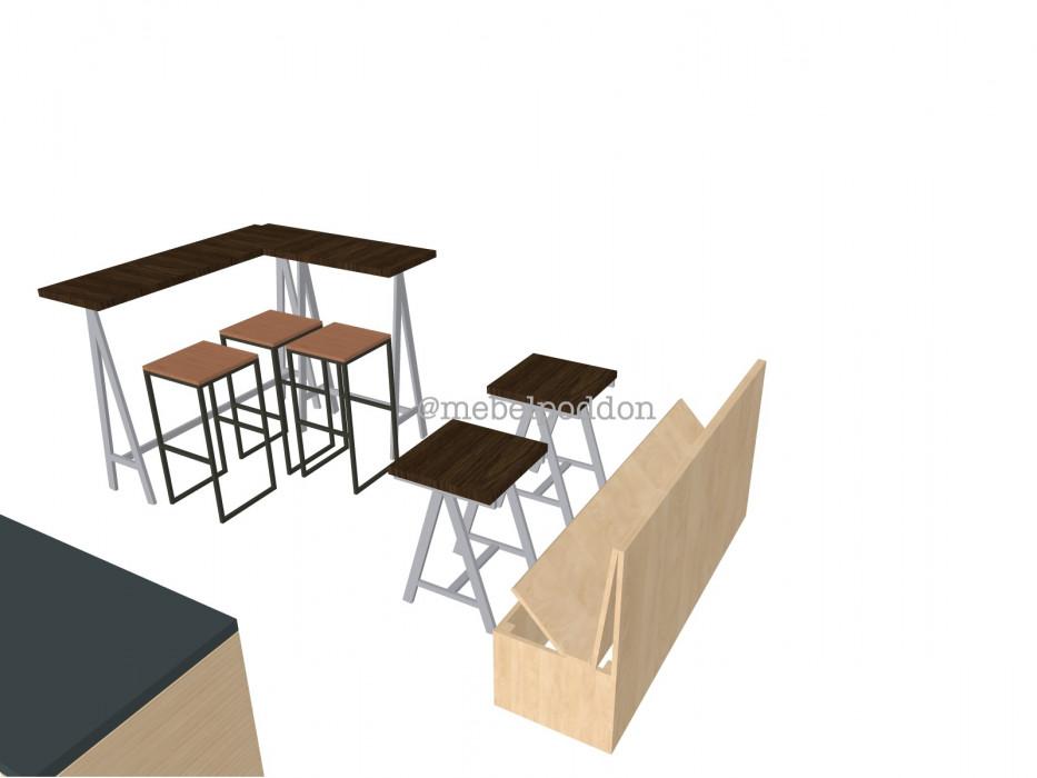 Мебель из паллет для кафе